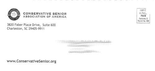Conservative senior