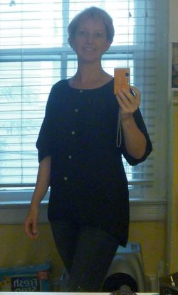C and C Blouse On